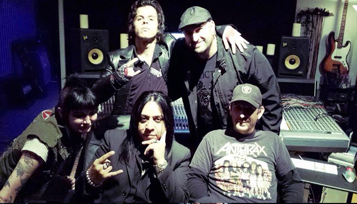 Ministry's Aaron Rossi and Sin Quirin Laying down the law.!